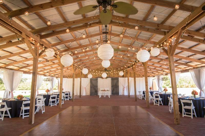 dance floor of Cross Creek Ranch