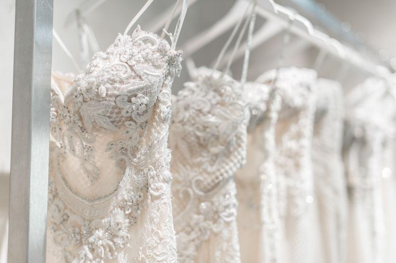 Netta BenShabu gowns at Solutions Bridal Designer House