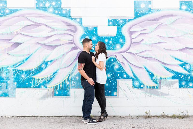 Milk Wings wall mural in Orlando