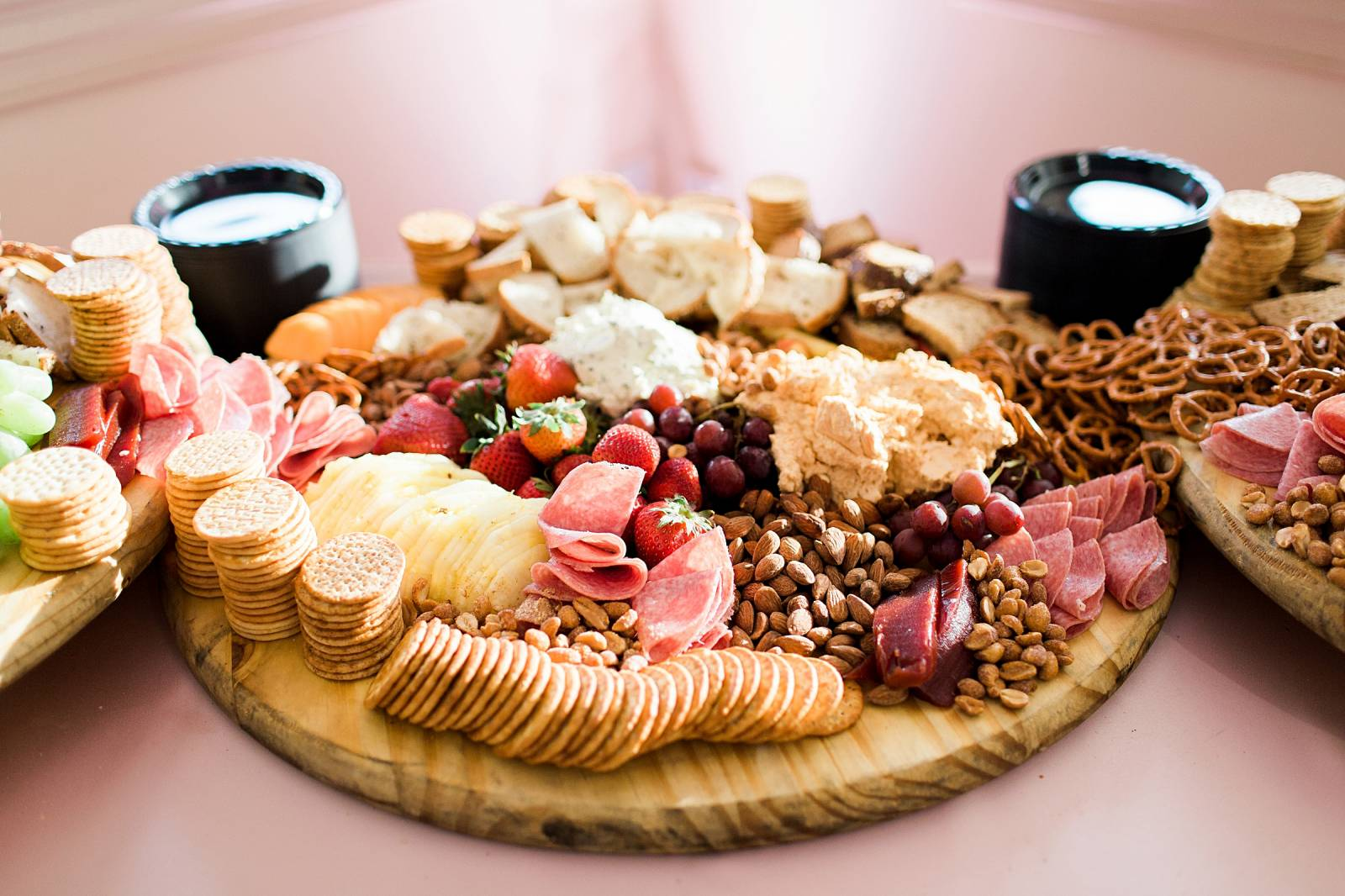 wedding charcuterie board by Two Chicks and a Pot
