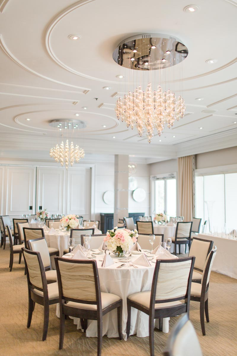 wedding reception space at Lake Nona Country Club in Orlando