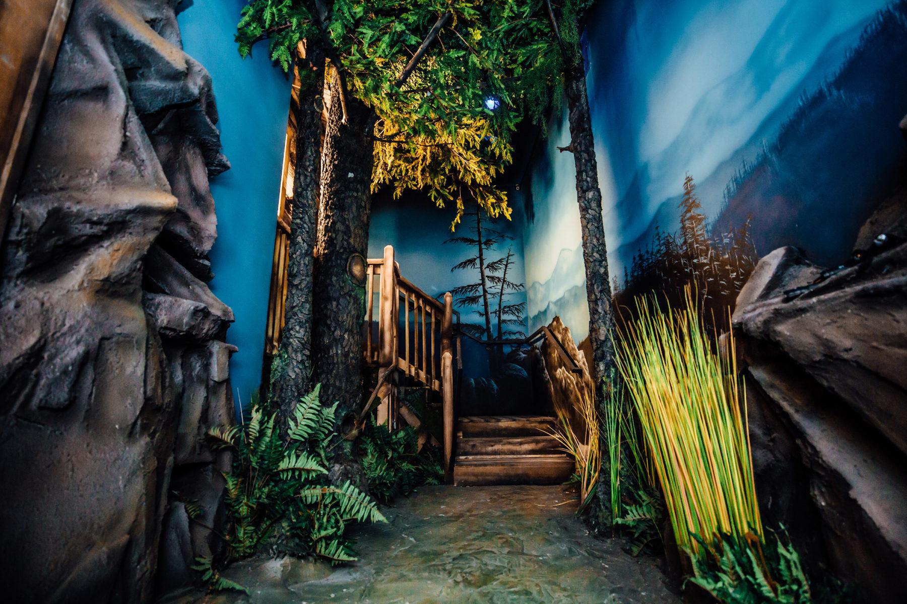 Gold Rush Room in Orlando Escape Game.