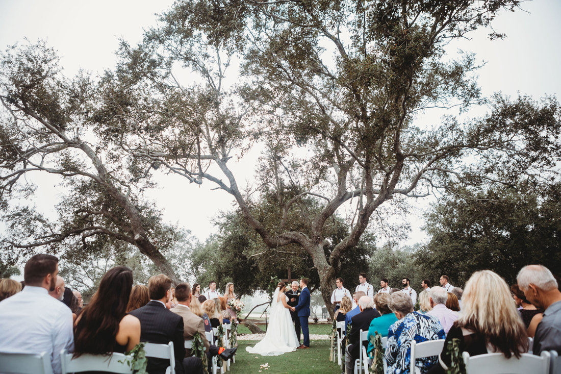 Wedding Ceremony at Suntree Country Club