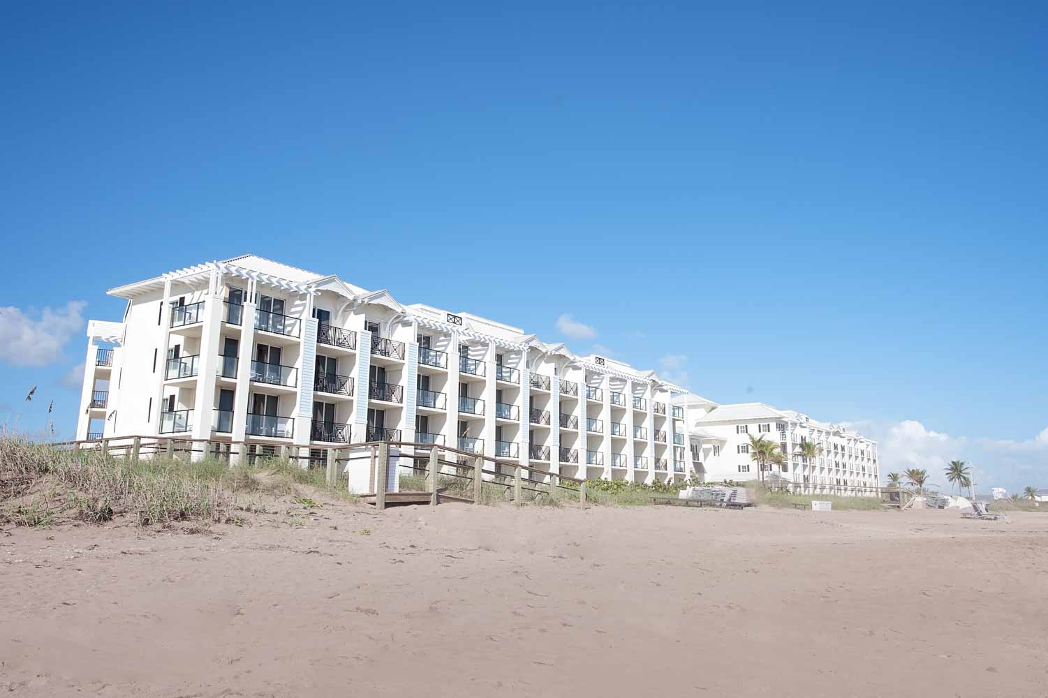 beach side of Hutchinson Shores Resort and Spa