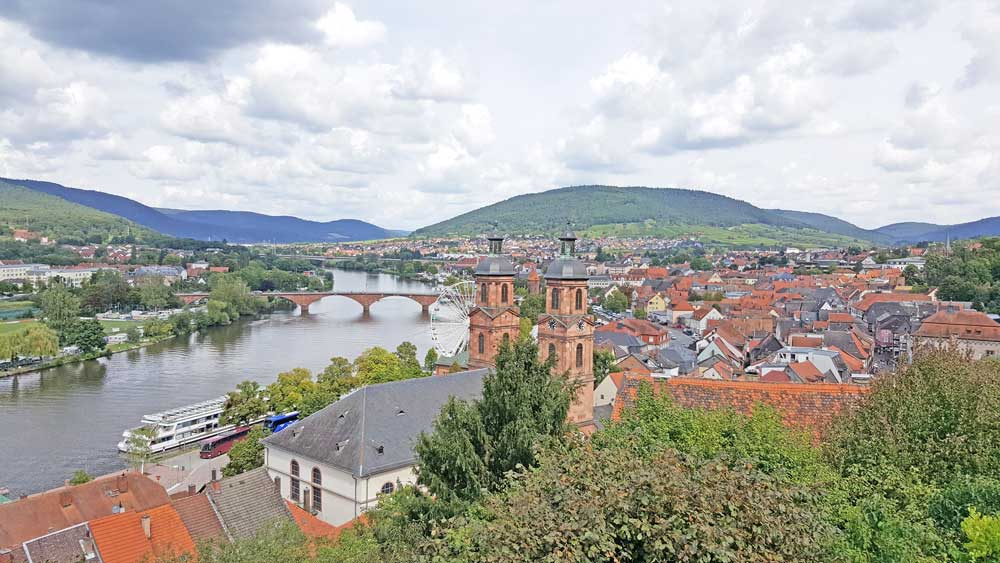 European village on the river as a destination on a river cruising itinerary