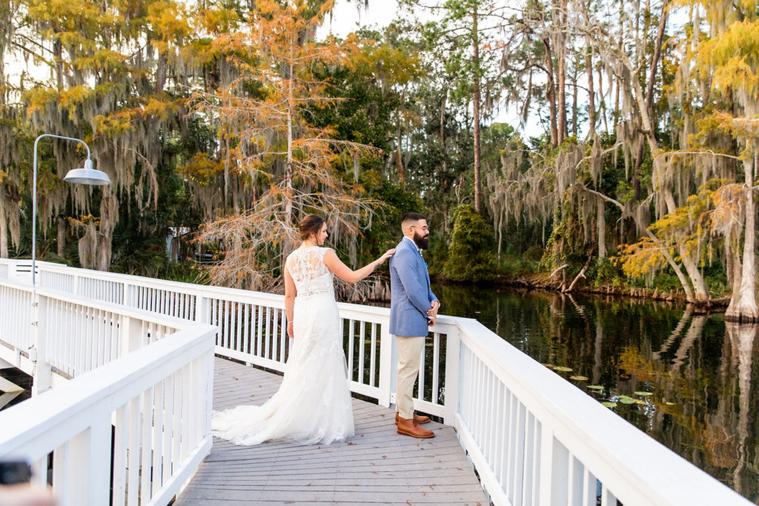 first look on dock at Paradise Cove in Orlando FL