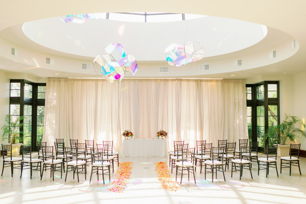 indoor ceremony space at The Alfond Inn in Winter Park